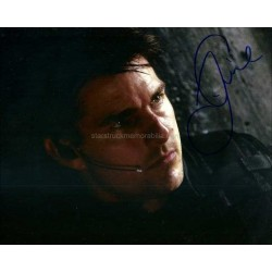 Tom Cruise Autographed 10x8 Photo