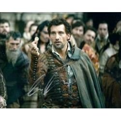 Clive Owen Autographed 10x8 Photo