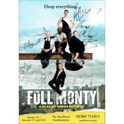 Full Monty Autographed 16x12 Poster