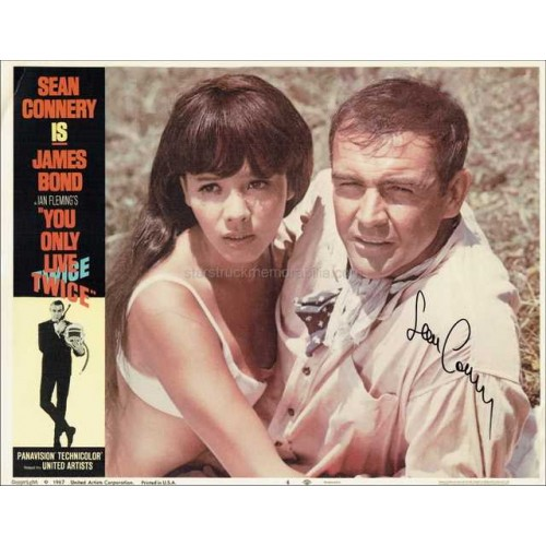 Sean Connery Autographed 14x11 Photo