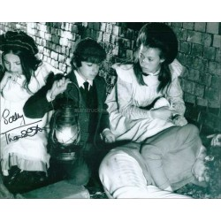 Sally Thomsett Autographed 10x8 Photo