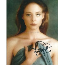 Jodie Foster Autographed 10x8 Photo