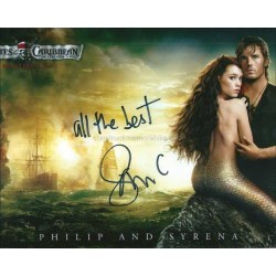 Sam Claflin Autographed 10x8 Photo