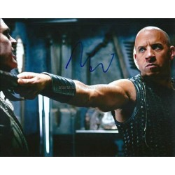 Vin Diesel Autographed 10x8 Photo