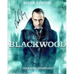 Mark Strong Autographed 10x8 Photo
