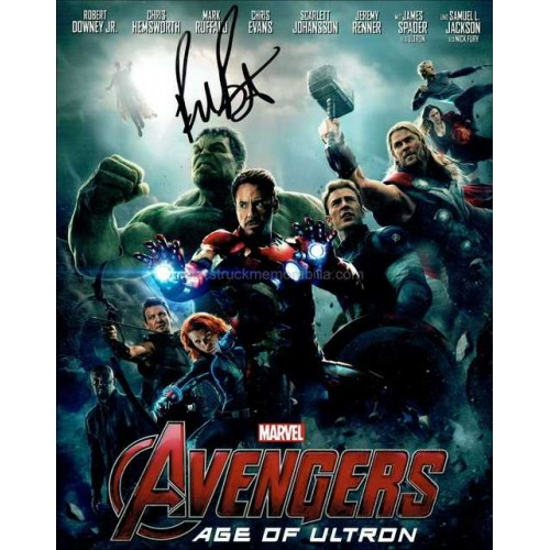 Paul Bettany Autographed 10x8 Photo