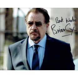 Brian Cox Autographed 10x8 Photo