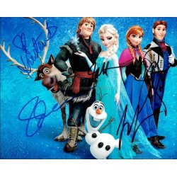 Frozen Autographed 10x8 Photo