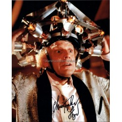 Christopher Lloyd Autographed 10x8 Photo