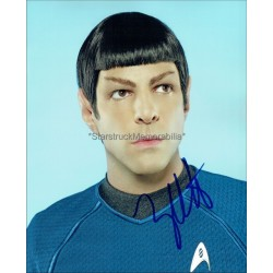 Zachary Quinto Autographed 10x8 Photo