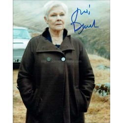 Judi Dench Autographed 10x8 Photo