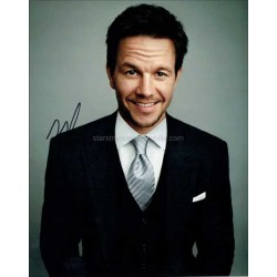 Mark Wahlberg Autographed 10x8 Photo