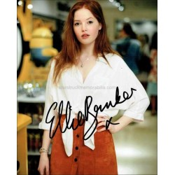 Ellie Bamber Autographed 10x8 Photo