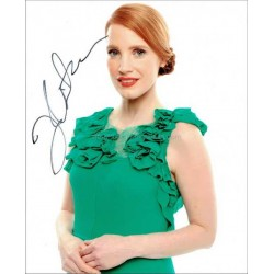 Jessica Chastain Autographed 10x8 Photo