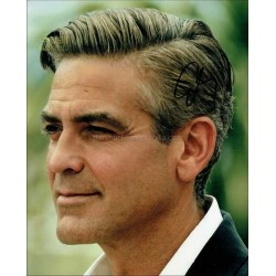 George Clooney Autographed 10x8 Photo