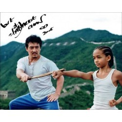 Jackie Chan Autographed 10x8 Photo
