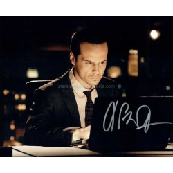 Andrew Scott Autographed 10x8 Photo