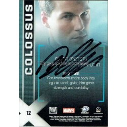 Daniel Cudmore Autographed Trading Card