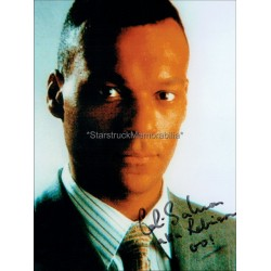Colin Salmon Autographed 10x8 Photo