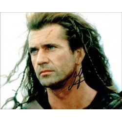 Mel Gibson Autographed 10x8 Photo