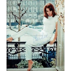 Claudine Auger Autographed 10x8 Photo