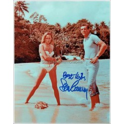 Sean Connery Autographed 10x8 Photo