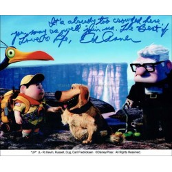 Ed Asner Autographed 10x8 Photo