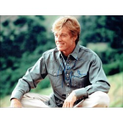 Robert Redford Autographed 10x8 Photo