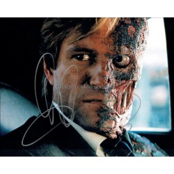 Aaron Eckhart Autographed 10x8 Photo