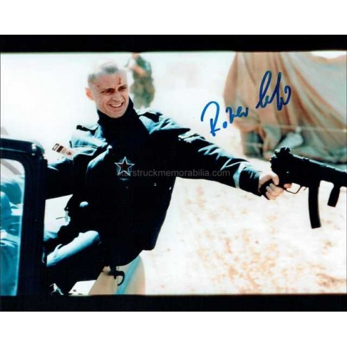 Robert Carlyle Autographed 10x8 Photo