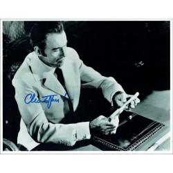 Christopher Lee Autographed 10x8 Photo
