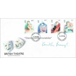 Kenneth Branagh Autographed FDC