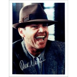 Jack Nicholson Autographed 10x8 Photo
