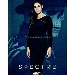 Monica Bellucci Autographed 10x8 Photo
