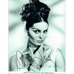 Daliah Lavi Autographed 10x8 Photo