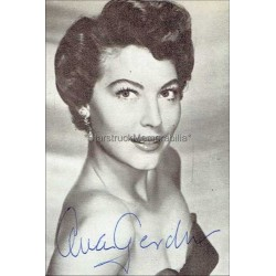 Ava Gardner Autographed 4x2 Picture