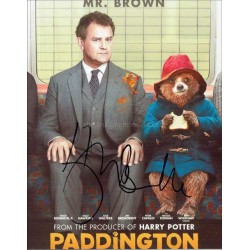 Hugh Bonneville Autographed 10x8 Photo