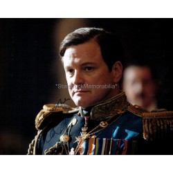 Colin Firth Autographed 10x8 Photo