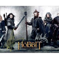 The Hobbit Autographed 10x8 Photo