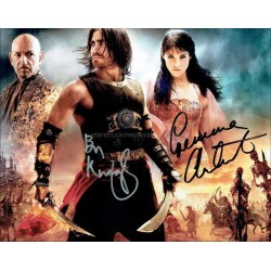 Prince of Persia Autographed 10x8 Photo