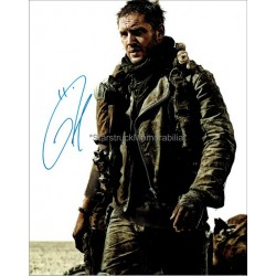 Tom Hardy Autographed 10x8 Photo