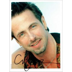 Clive Barker Autographed 8x6 Photocard