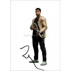 John Boyega Autographed 10x8 Photo