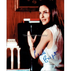 Carole Bouquet Autographed 10x8 Photo