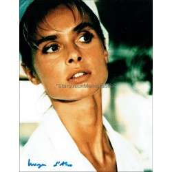 Maryam d'Abo Autographed 10x8 Photo