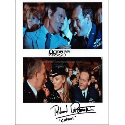 Richard LeParmentier Autographed 10x8 Photo