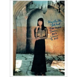 Diana Lee Hsu Autographed 10x8 Photo