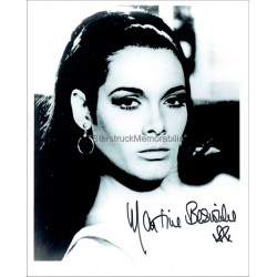 Martine Beswick Autographed 10x8 Photo