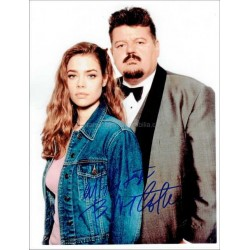 Robbie Coltrane Autographed 10x8 Photo