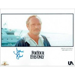Julian Glover Autographed 10x8 Photo